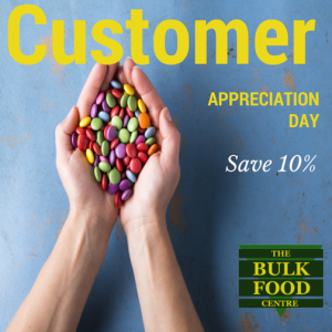 Bulk Food Customer Appreciation