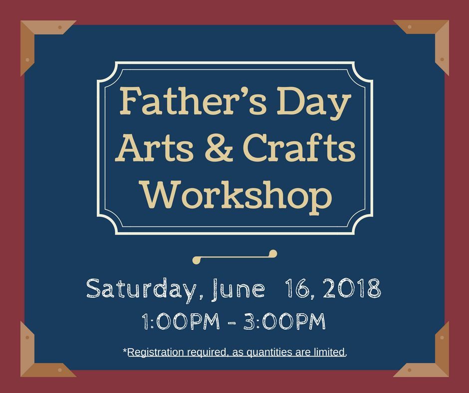 Father's Day Arts & Crafts Workshop (3)