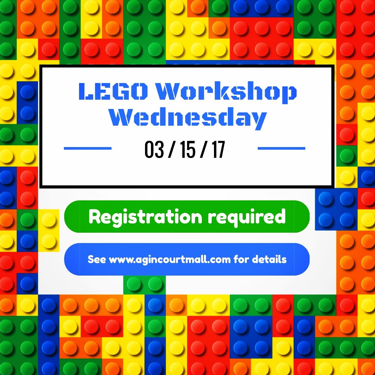 lego workshop wednesday