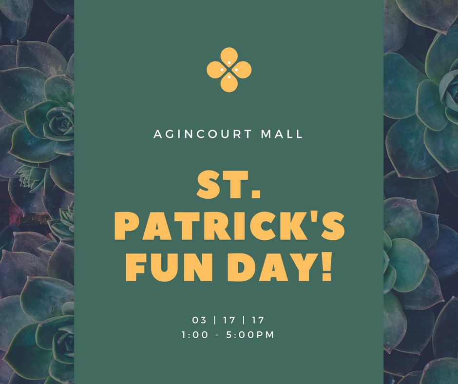 st. patrick's fun day