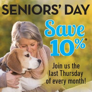Pet Valu Seniors Day